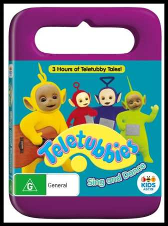 Teletubbies DVD sing and dance