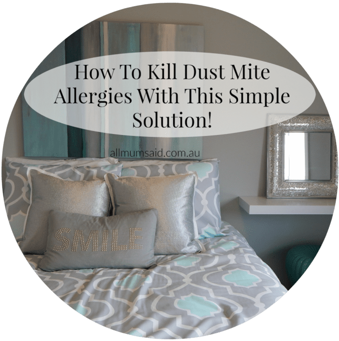 How To Kill Dust Mite Allergies With This Simple Solution!