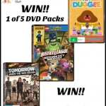 DVD Giveaway For The Whole Family