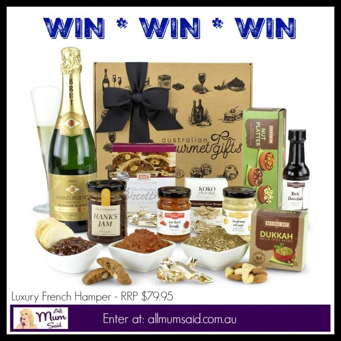 WIN Gourmet Hamper - Christmas Gifts That Won't Disappoint