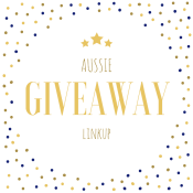 Aussie Giveaway Linkup | blog link up button | All Mum Said