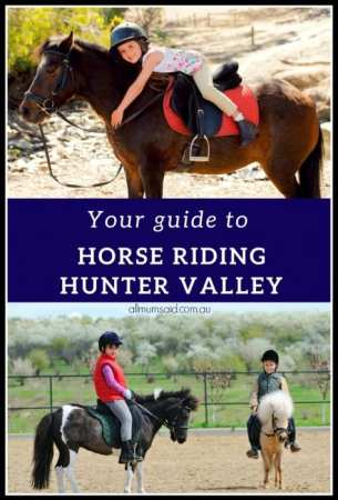 kids horse riding Hunter Valley | pinterest