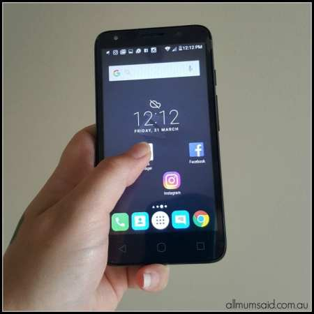 Alcatel Dex smartphone review Boost mobile