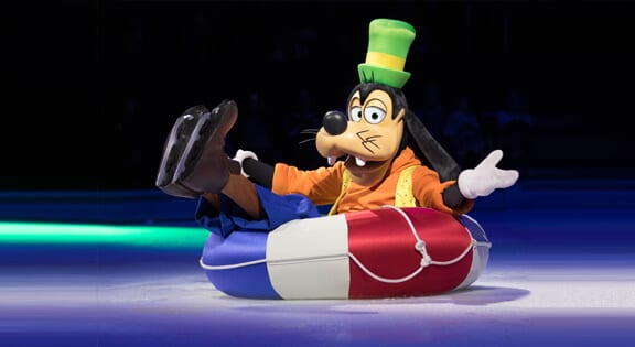 goofy disney on ice newcastle