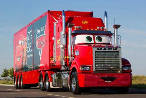 Mack Lightning McQueen Supercars Newcastle