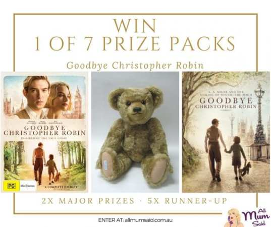 Goodbye Christopher Robin giveaway