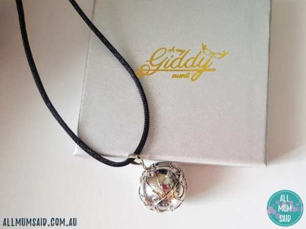 Bella Donna Silver harmony ball necklace
