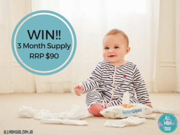 WaterWipes giveaway