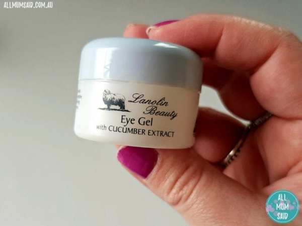 Lanolin Beauty eye gel