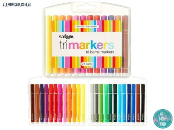 smiggle trimarkers