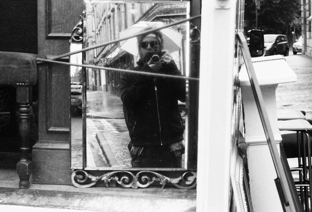 Glasgow 35mm selfie