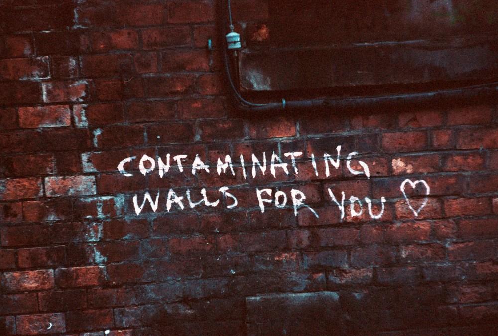Glasgow street graffiti