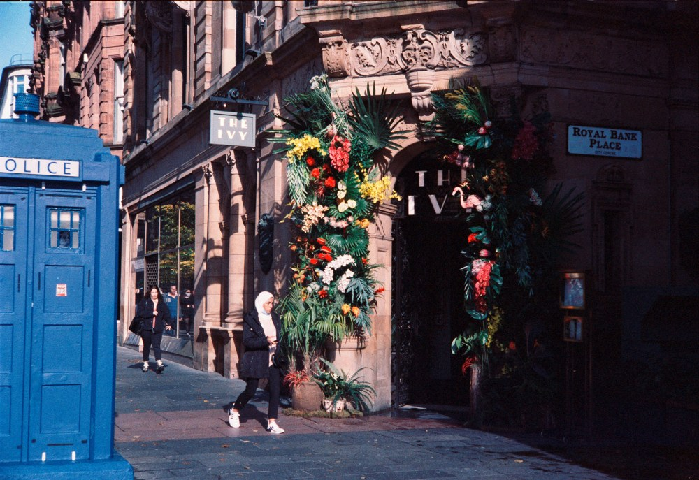 Glasgow street colour 35mm