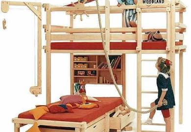 Cool Bunk Beds With Slide Idea
