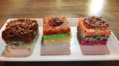 Design food cubes from Food Anatomy