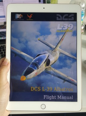 The title of the flight manual which I was coding for at work
