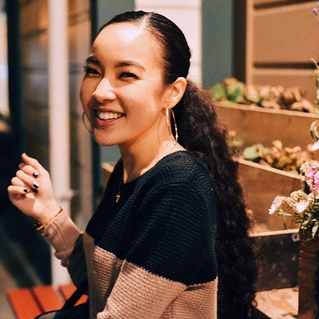 Tatiana Manaois Smiling
