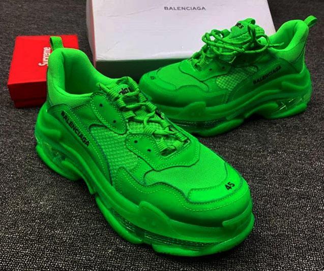 Lemon Balenciaga Shoe Sneakers