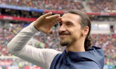 Zlatan Ibrahimovic Salute