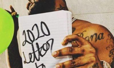 Davido 2020 letter to you art