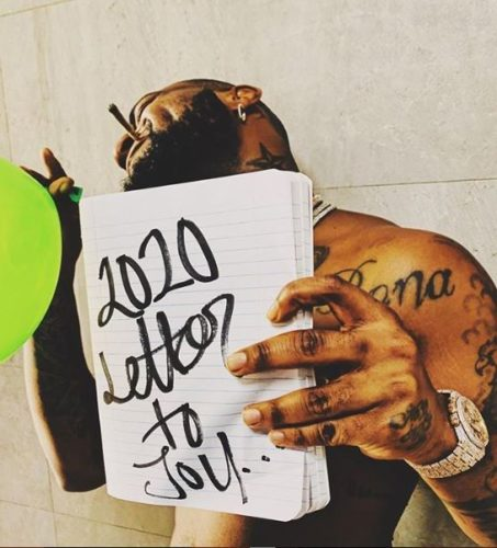 Davido 2020 letter to you art