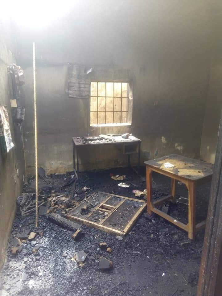 Fire Burn House In Yobe