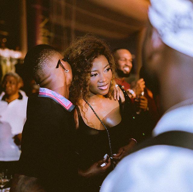 Wizkid And Genevieve Nnaji