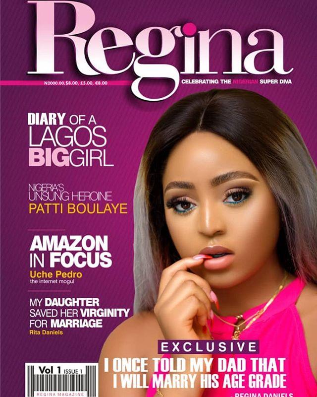 Regina Daniels Magazine