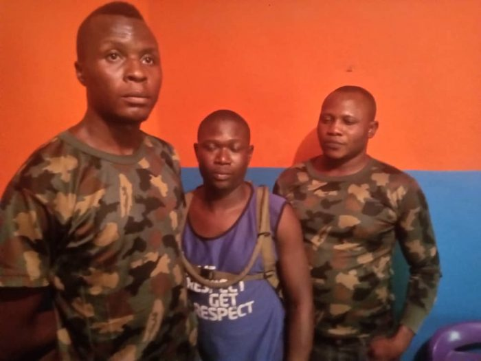 Fake Soldiers Arrested In Ogun