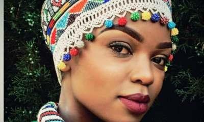 South African actress, Thandeka Mdeliswa