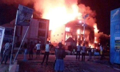 Fire in Lokoja