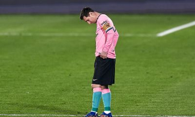 Messi Getafe vs Barcelona