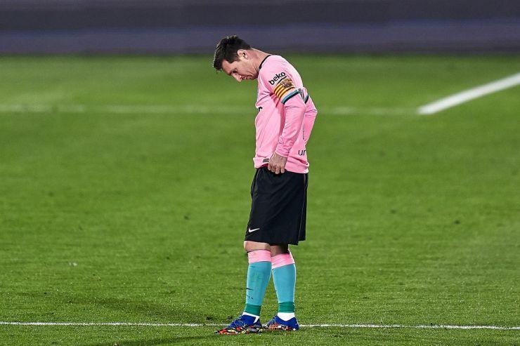 Messi Getafe vs Barcelona