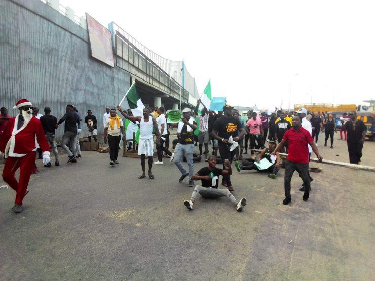 EndSARS Protesters In Warri Delta