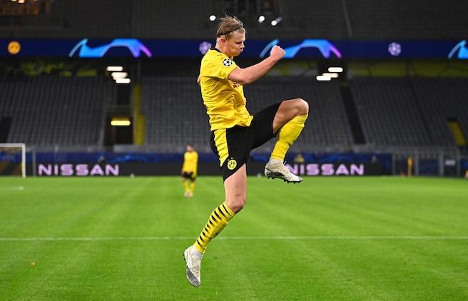 Borussia Dortmund beats Zenit with late goals from Jadon Sancho, Erling Haaland