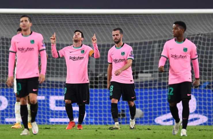 Lionel Messi Barcelona 2-0 win against Juventus