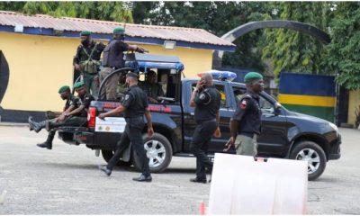 Nigeria Police in Station