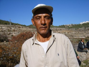 Abed at Ein Haniya Farmers Market