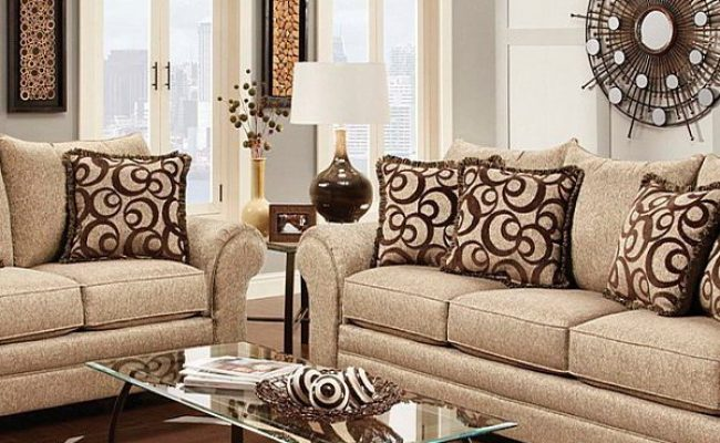 Multi Colored Tan And Brown Textured Fabric Traditional