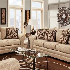 Affordable Sectional Sofa Beds Bed Comfortable Mattress Multi-colored Tan And Brown Textured Fabric Traditional ...