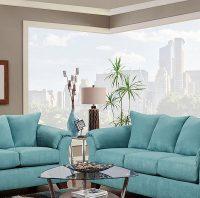 Turquoise Sofas Loveseats Sofas Loveseats Hayneedle - TheSofa
