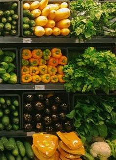 الخضروات والفواكه من أهم مصادر الأغذية العضوية والطبيعية