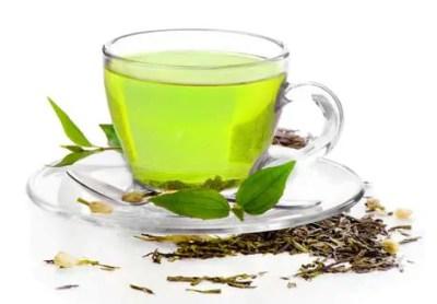 مشروب الشاي الأخضر