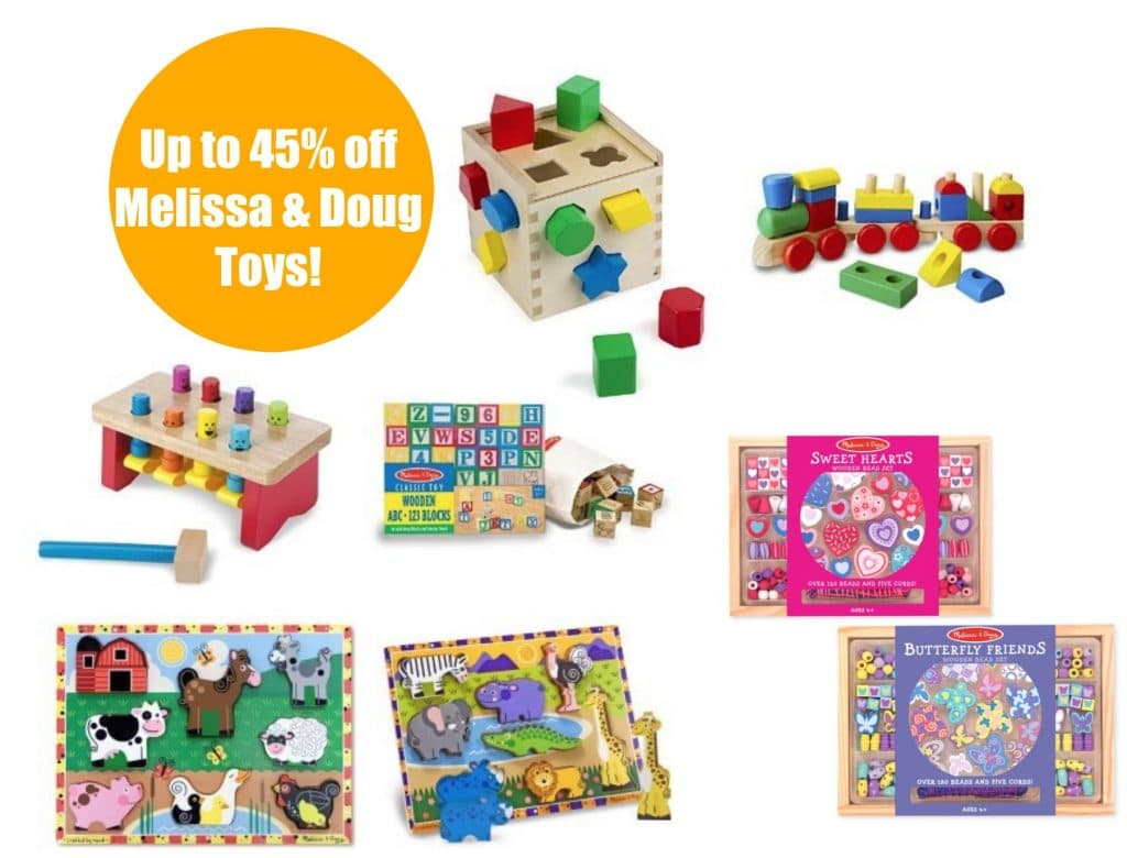 Melissa  Doug Toy Bundles up to 45 off as Amazons Deal