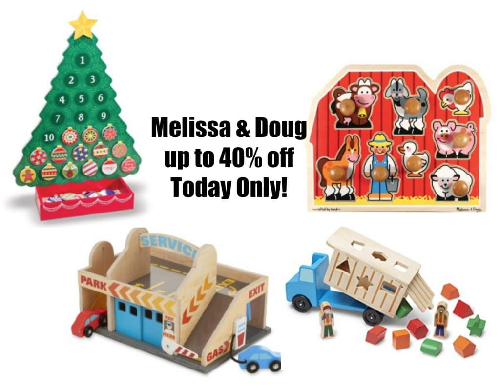 Melissa  Doug Toys up to 40 off Today Only on Amazon