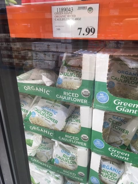 Frozen Cauliflower Rice From Costco : frozen, cauliflower, costco, Green, Giant, Organic, Riced, Cauliflower, Costco, Products, Natural, Savings
