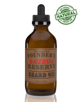 two ounce bay rum beard oil