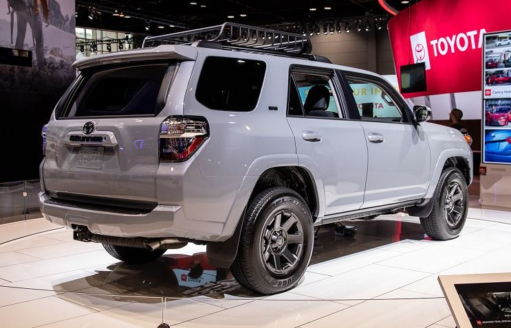 2021 Toyota 4Runner at Japan Auto Show