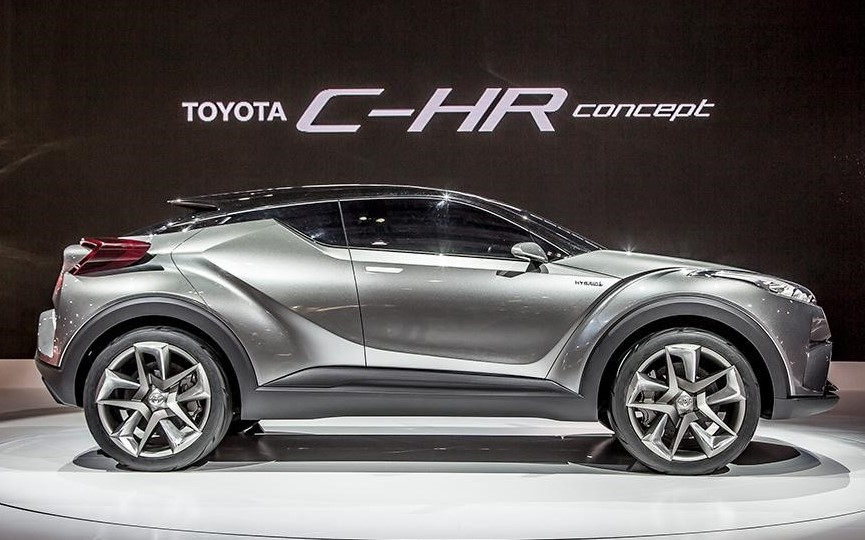 2021 Toyota C-HR with new concept design