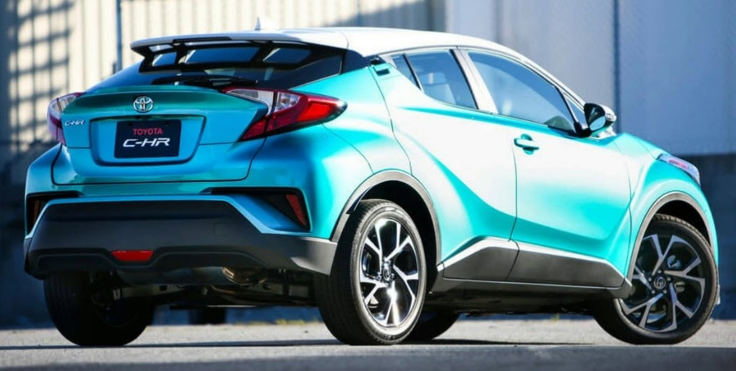 2021 Toyota C-HR with new engine system